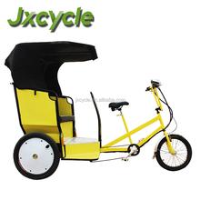 500W bicycle rickshaw for 2-3 passenger for advertising