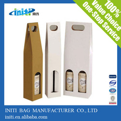 paper wine bottle bags cheap/ 2015 Hot-Selling paper wine bottle bags cheap