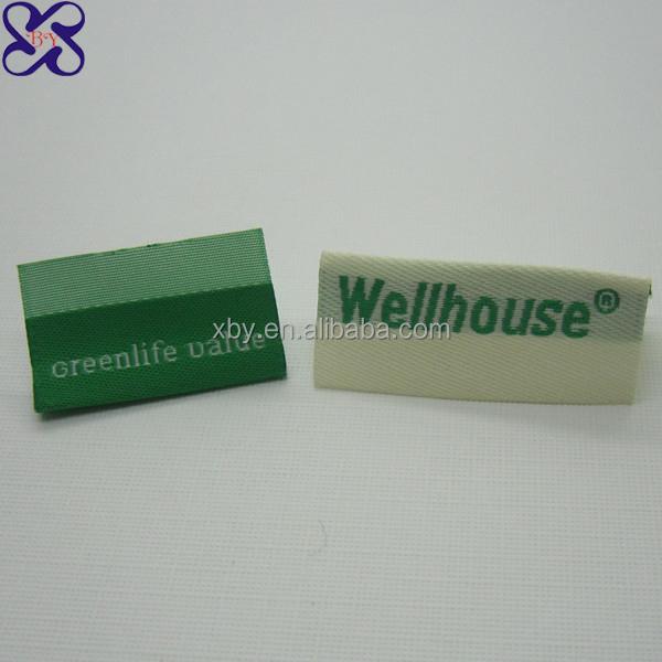 Free samples woven label designer brand clothing labels