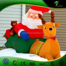 New Popular Inflatable Customized Cartoon For Christmas Iinflatable Christmas Decoration