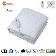 Surper 200x90cm 6 Setting Timer LED Display Double Bed Cotton Queen Electric Blanket