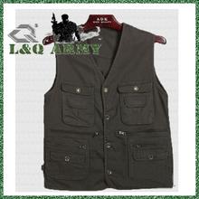 LQ Men Cotton Photography Vest