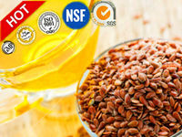 Factory wholesale food grade linseed oil suppliers