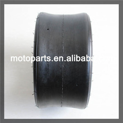 Go-kart ATV tire and wheel assembly of 11x6-5 type