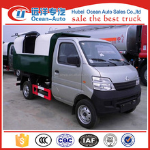 Changan mini dump garbage truck with 2~3cbm capacity for sale
