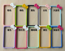 Protective PVC Bumper Frame Cover Case For iphone 5/5S