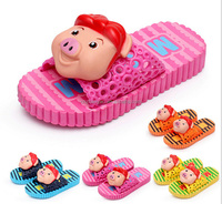 2015 china shoes factory making lovely cartoon baby cute animal PVC slippers