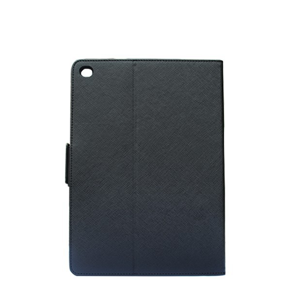 For iPad Air 2 fashion black leather case