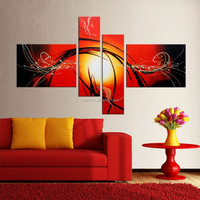 fine art on canvas handmade