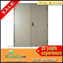 Exit door epoxy polyester powder coating
