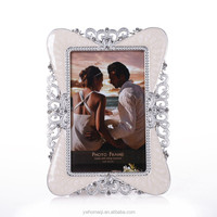 HOMEQI Alloy 4x6 inches photo frame wall hanging paper photo frame with clip and rope HQ121895-46