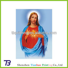 Best price printing factory 3d pictures of jesus