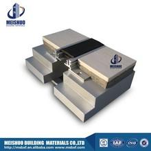 Architectural snap-fit design floor rubber expansion joint sealer
