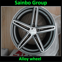 13 to 24inch rim , PCD 101.6 120 139.7 150 Car alloy wheel 00466