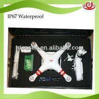 Outdoor Hard Waterproof IP67 Shockproof Plastice Case dji phantom 2 vision case