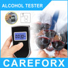 Black Color Digital Alcohol Meter Blue Backlight Breathalyzer Alcohol Test With CE&RoHS Patent Alcoholtester