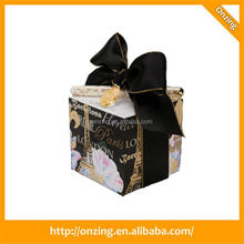 Multi-funtion 4 sides printing memo cube with pvc box