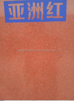 Asia red granite floor tiles from sichuan yaan