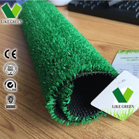 Plastic Garden Grass With Good Water Permeability