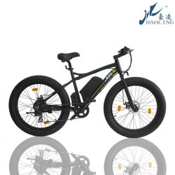 Fat bike,Haoling chopper bicycle 350w beach cruiser electric bike