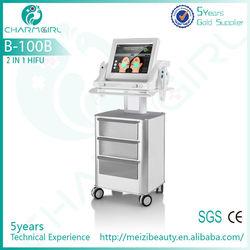 Most Popular Verticle Ultrasound Skin Beuaty Equipment Hifu on Big Promotion