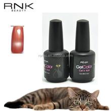 rnk free samples cat's eye uv gel polish,15ml cat eye nail suppliers,52colors cat eye soak off uv gel-024