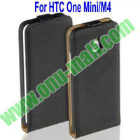 Wholesale Genuine Leather Case for HTC One Mini M4
