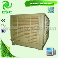 Industrial 18000cmh Single Speed Down Discharge Air Cooler or Air Conditioner for Factory