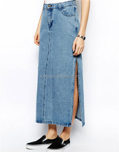 Contemporary best sell fashion women maxi skirt china supplier