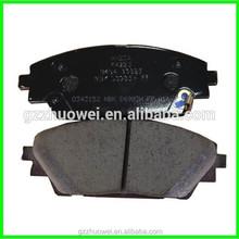 textar brake pads/wholesale brake pads/Japanese car brake pads B4Y0-33-28ZB
