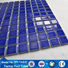 crystalline glazed dark blue ceramic pool tile for indoor decoration cheap prices