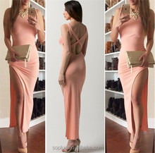 2015 New Free Shipping Female Summer Party Dresses Sexy Girl Evening Party Women Slim Asymmetry Dress Hf-1905