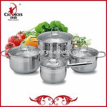 8 méxico piezas de acero inoxidable ollas de cocina