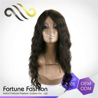 Popular Quick Lead No Shedding 18 Inches Long Human Hair Wigs
