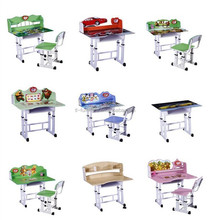 2015 Cheap Wooden School Furniture Kids Study Table and Chair