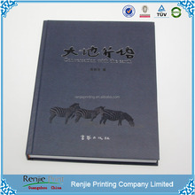 A4 Case Bound Binding Hardcover Book Printing
