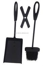 Black fireplace tool set / fireplace accessories