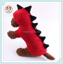 2 colors Puppy Hoodie Fancy Coat Pet Dog Cat Cute DINOSAUR Costume Outfit Clothes
