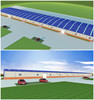prefabricated steel structure factory workshop design