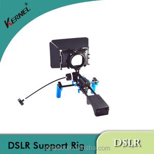 커널 DSLR rigs 저격수 어깨 지원 비디오 카메라 후속 초점 매트 상자