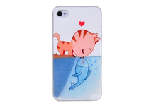 Creating design sublimation printing cell phone cover for iphone 4