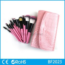 2015 hot sale product professional makeup sets for girls, synthetic makeup brush sets
