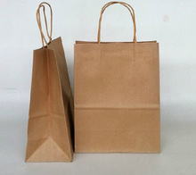manufacture custom brown kraft paper bag