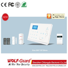 M2 Dual Network GSM+PSTN Wireless Gsm Intelligent Alarm System Manual