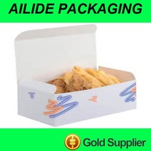 airline food grade carton box for fast food