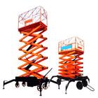 hidráulica plataforma elevatória móvel