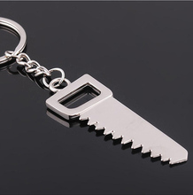 wholesale Tools metal saw keychain and metal TOOL key ring for gifts
