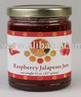 Raspberry Jalapeno Gourmet Jam