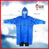 Maiyu hot sale promotional classic recycled rain poncho