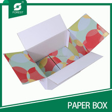 DOUBLE WALL CORRUGATED BOX TWO SIDES COLOR PRINTED